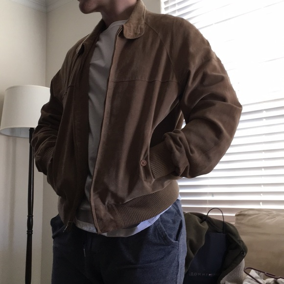 83b7da98a Saddler Brown Genuine Leather Jacket